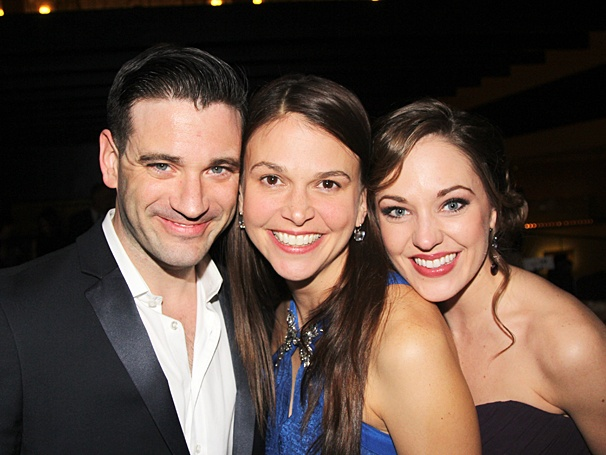 Violet Broadway opening - Colin Donnell - Sutton Foster - Laura Osnes