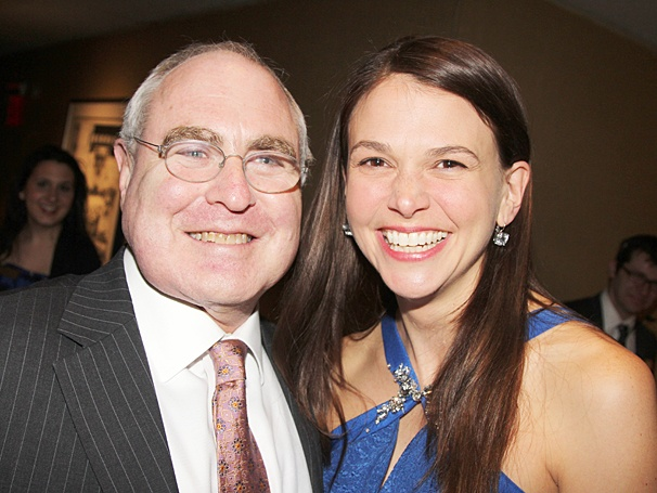 Violet Broadway opening - Todd Haimes - Sutton Foster