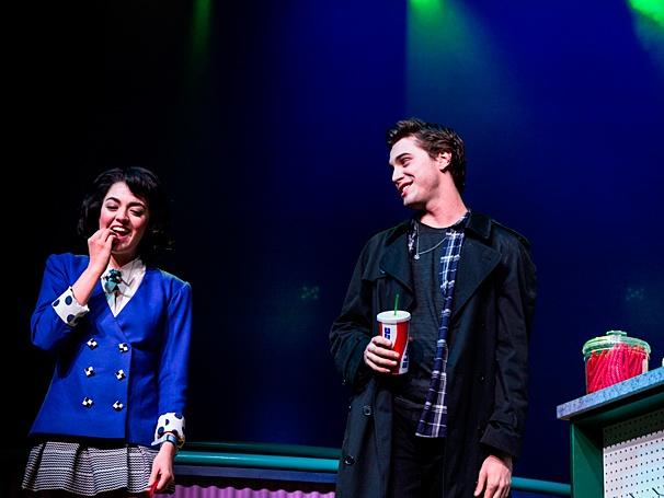 Heathers: The Musical - Show Photos - PS - 3/14 - Ryan McCartan - Barrett Wilbert Weed