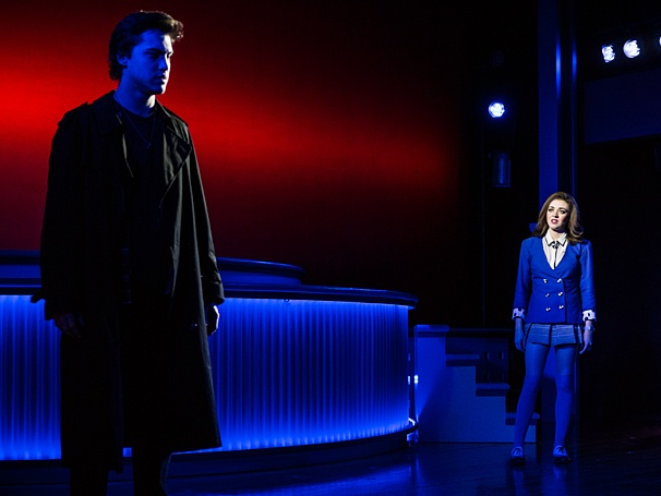 Heathers: The Musical - Show Photos - PS - 3/14 - Ryan McCartan - Barrett Wilbert Weed