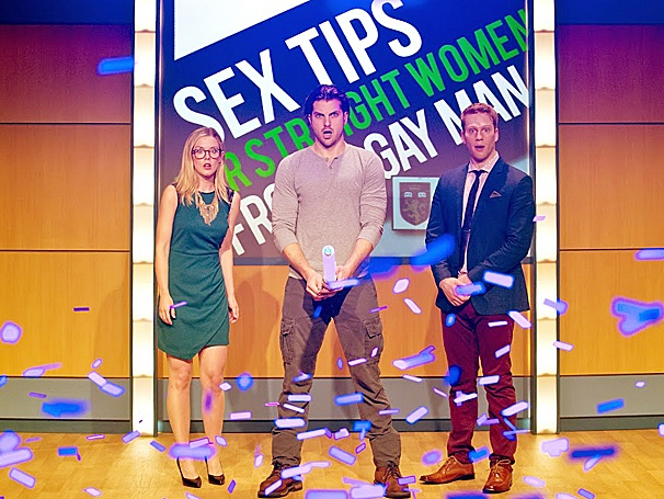 Sex Tips for Straight Women from a Gay Man - Show Photos - PS - 5/14 - Rachel Moulton - Keith Hines - Grant MacDermott