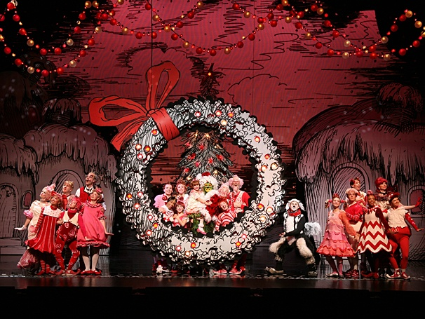 dr seuss how the grinch stole christmas the musical national tour show photos - Broadway Christmas Shows