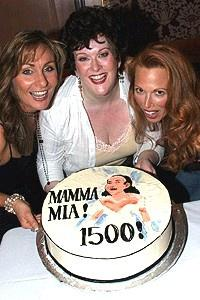 Mamma Mia 1500 Perf - Judy McLane - Liz McCartney - Carolee Carmello