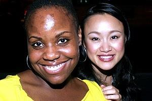 Avenue Q Anniversary/Las Vegas Party - Haneefah Wood - Ming Lie Chen