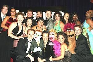 Avenue Q Vegas Opening - Full cast