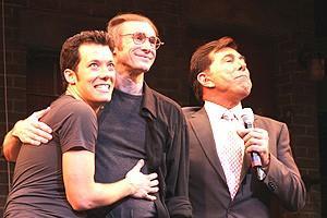 Avenue Q Vegas Opening - John Tartaglia - Rick Lyon - Steve Wynn