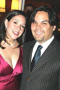 Avenue Q Vegas Opening - wife Kristen - Robert Lopez