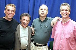 Frankie Valli at Jersey Boys - Des McAnuff - Frankie Valli - Marshall Brickman - Rick Elice