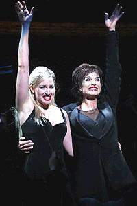 Brooke Shields in Chicago - Brooke Shields - Luba Mason (curtain)