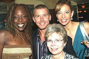 Brooke Shields in Chicago - Michelle M. Robinson - Gary Kilmer - mom - Michelle Potterf
