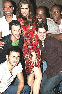 Brooke Shields Chicago Farewell Party - Brooke Shields - boys
