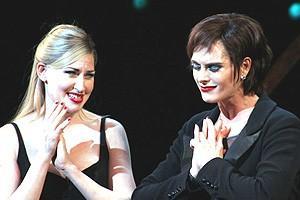 Brooke Shields Chicago Farewell Party - Curtain Call - Luba Mason - Brooke Shields