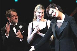 Brooke Shields Chicago Farewell Party - Curtain Call - Huey Lewis - Luba Mason - Brooke Shields