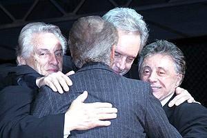 Jersey Boys Opening - Curtain Call - Tommy DeVito - Joe Pesci - Bob Gaudio - Frankie Valli
