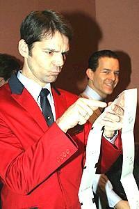 Jersey Boys at NYSE - J. Robert Spencer - Christian Hoff