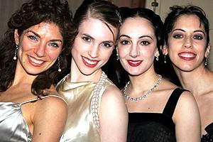 Phantom Record Breaking Party - Dara Adler - Polly Baird - Gianna Loungway - Dianna Warren