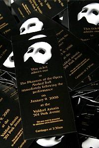 Phantom Record Breaking Party - invitation