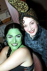 Wicked cast farewells 2006 - Shoshana Bean - Michele Federer
