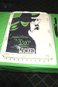 Wicked 1000 - Cake