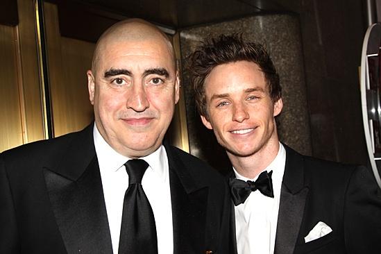 2010 Tony Awards Red Carpet – Alfred Molina – Eddie Redmayne
