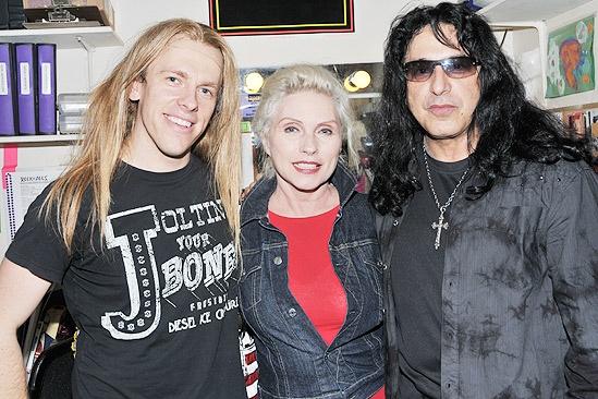 Debbie Harry at Rock of Ages – Tommy Kessler – Debbie Harry – Eddie Ojeda