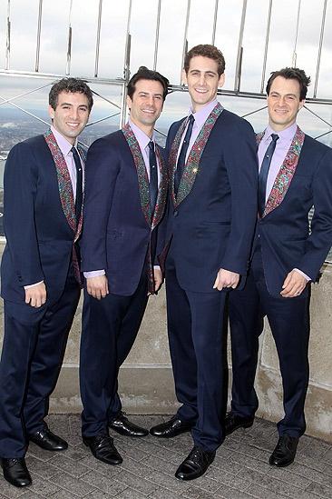 Jersey Boys at Empire State Building – Jarrod Spector – Dominic Nolfi – Ryan Jesse – Matt Bogart
