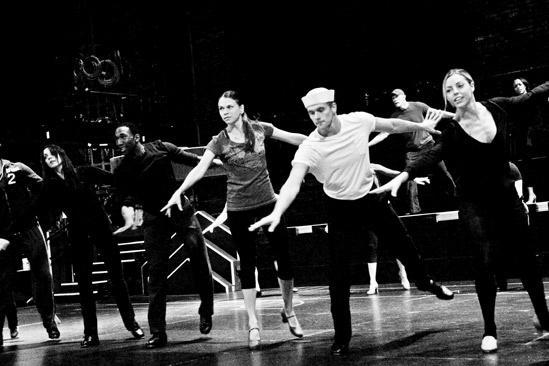 Anything Goes in Rehearsal –  Sutton Foster – tktkt