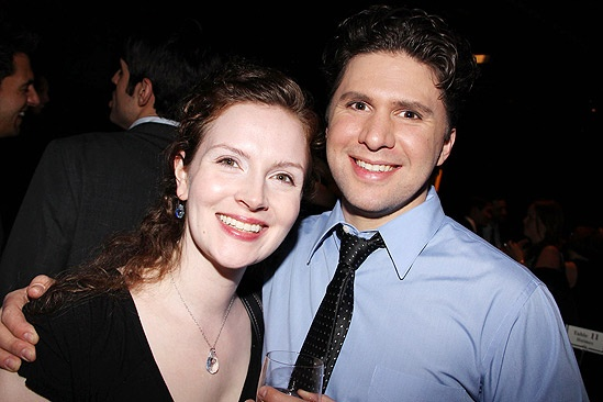 Anything Goes Opening Night  - wife – Louis Hobson