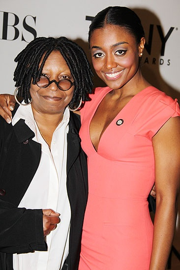 Tony brunch - Whoopi Goldberg - Patina Miller