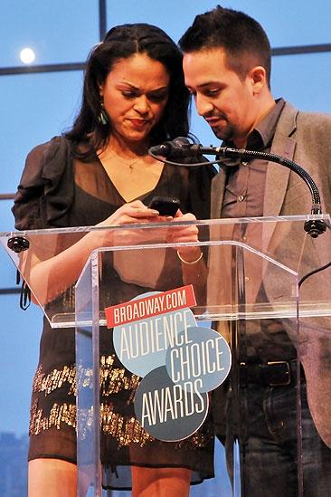 2011 Audience Choice Awards Ceremony – Lin-Manuel Miranda – Karen Olivo (blackberry)