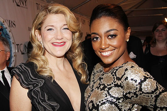 2011 Tony Awards Red Carpet – Victoria Clark - Patina Miller