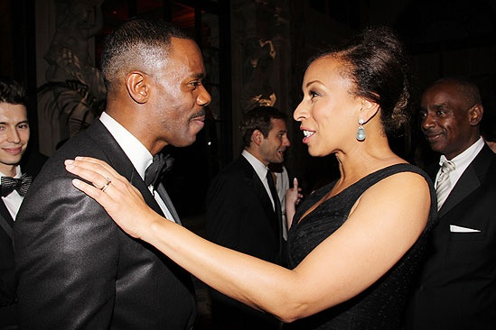 Tony Ball '11 - Colman Domingo - Tamara Tunie