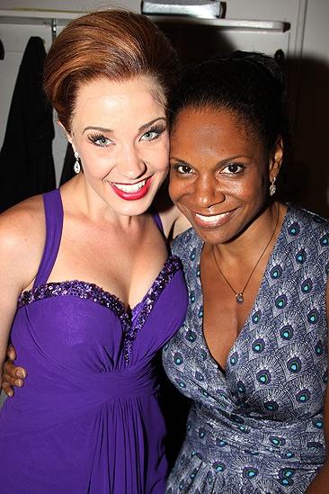Zoe Caldwell and Audra McDonald at Master Class – Sierra Boggess – Audra McDonald