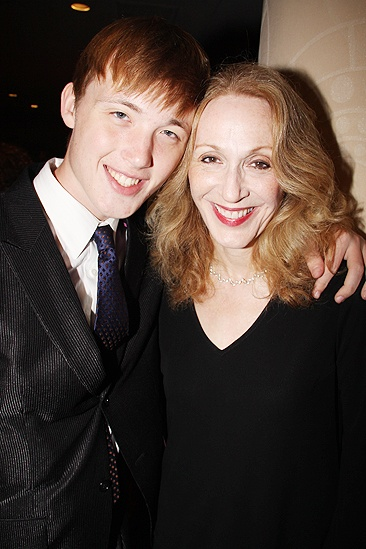 <i>Follies</i> opening night – son – Jan Maxwell