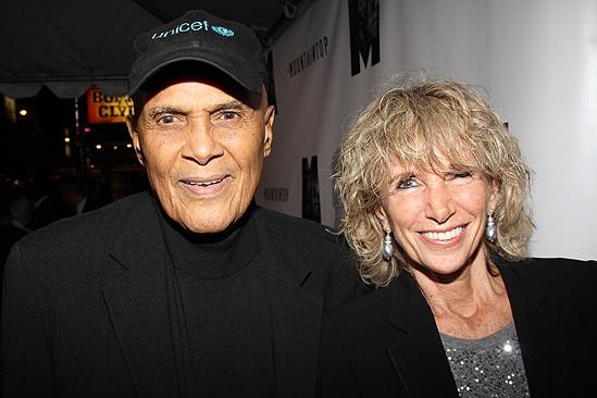 Mountaintop opens – Harry Belafonte – wife Pamela Frank