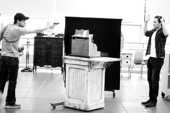 <i>Bonnie & Clyde</i> Rehearsal -   Jeremy Jordan – Jon Fletcher