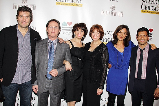 Standing opening – Craig Bierko – Richard Thomas – Beth Leavel – Harriet Harris – Polly Draper – Mark Consuelos