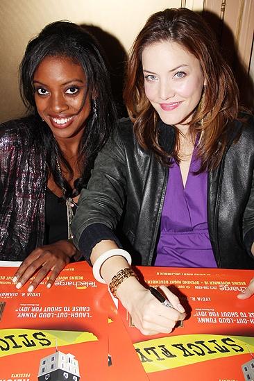 <i>Stick Fly</i> Poster Signing – Condola Rashad – Rosie Benton