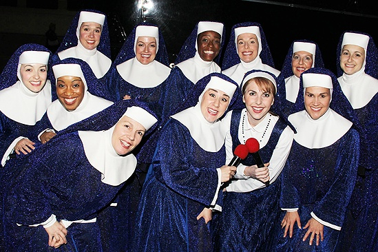 <i>Sister Act</I> at Macy's – The ladies of <i>Sister Act</i>