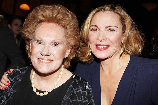 Private Lives opens - Tammy Grimes - Kim Cattrall