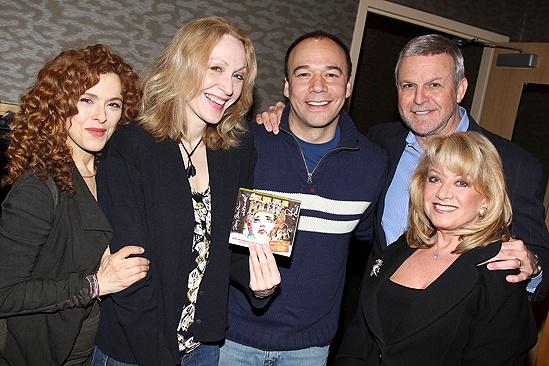 Follies- Bernadette Peters, Jan Maxwell, Danny Burstein, Ron Raines and Elaine Paige