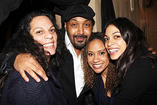 La La Anthony and more at Stick Fly – Rosario Dawson's mom Jesse L. Martin – Tracie Thoms – Rosario Dawson