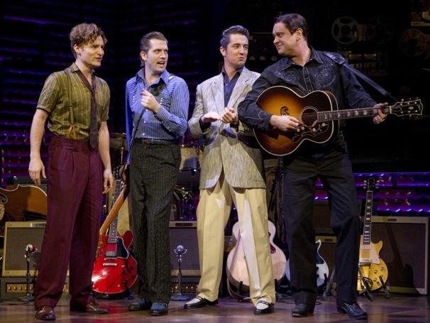 Show Photos - Million Dollar Quartet - Eric Stang - Robert Britton Lyons - Eddie Clendening - Lance Guest