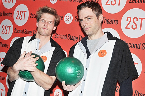Second Stage Bowling Benefit – Hunter Parrish – Justin Kirk