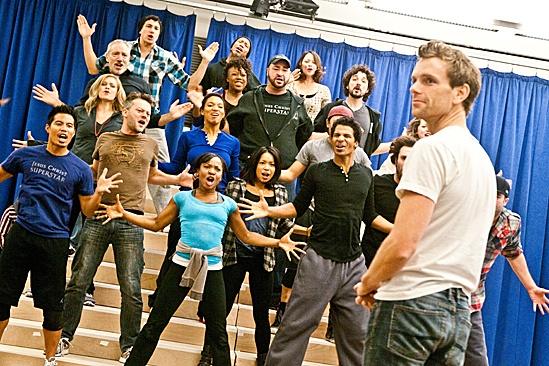 In Rehearsal with Jesus Christ Superstar – Jesus Christ Superstar cast – Paul Nolan