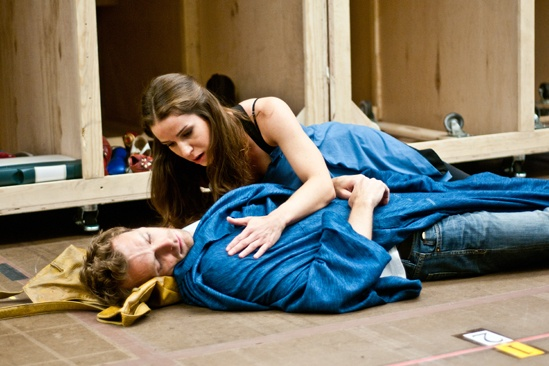 In Rehearsal with Jesus Christ Superstar – Paul Nolan – Chilina Kennedy