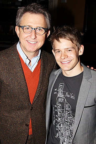 Newsies- Thomas Schumacher and Andrew Keenan-Bolger and