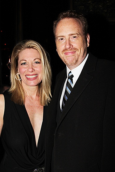 Carrie- Marin Mazzie and Bob Greenblatt