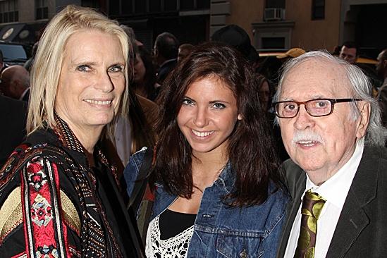 Jesus Christ Superstar opening night –  Tom Meehan – wife- granddaughter