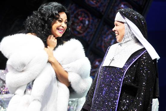 Raven-Symoné Opening Night in Sister Act – Raven-Symoné – Carolee Carmello